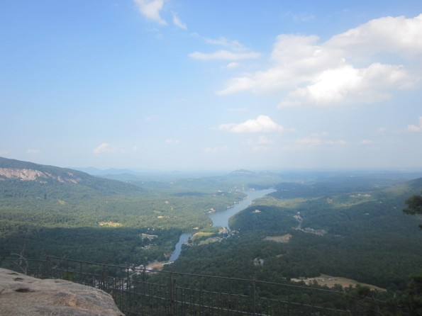 Scenery from Chimney Rock
